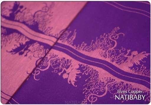 natibaby fascia elves copper taglia 5 (4,2 m) seco-191
