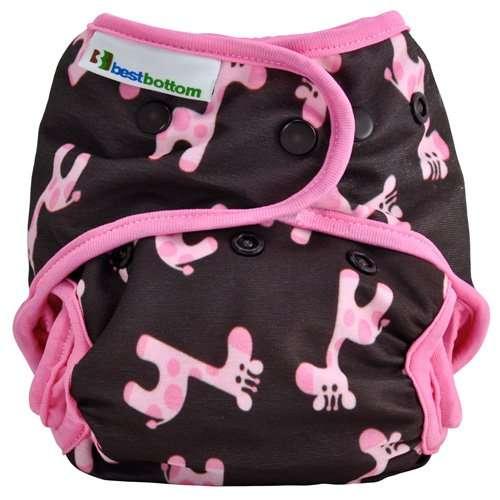 best bottom pannolini lavabili ai2 giraffe rosa-0