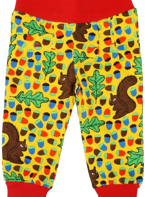 Duns Yellow Squirrel Pantaloni-0