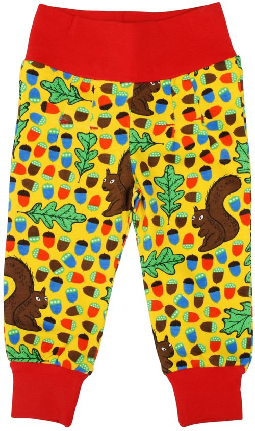 Duns Yellow Squirrel Pantaloni-0