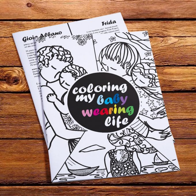 Gioia Albano x Frida Colouring Book Coloring My Ba-0