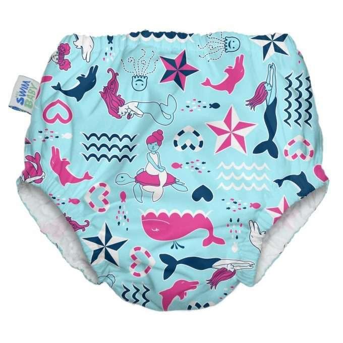 My Swim Baby Costumino Contenitivo Little Mermaid *Nuove taglie*-0