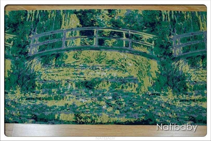 Natibaby Fascia Portabebè Water Lily Pond With Japanese Bridge-0