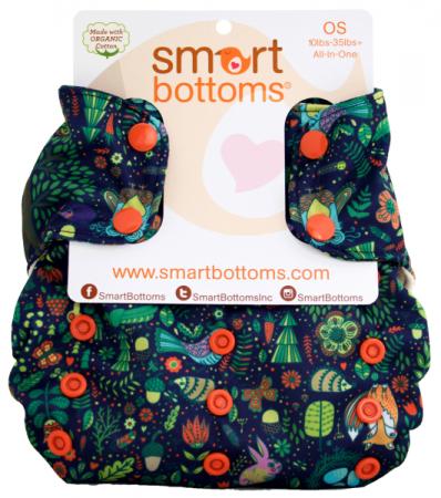 Smart Bottoms AIO 3:1 Pannolino Lavabile Enchanted-0