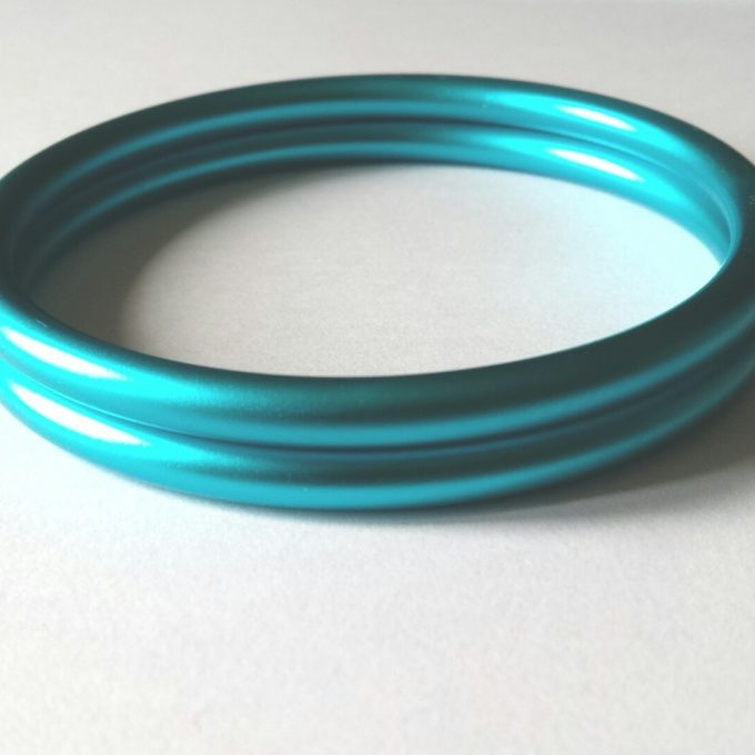 coppia di anelli acqua opachi m-0