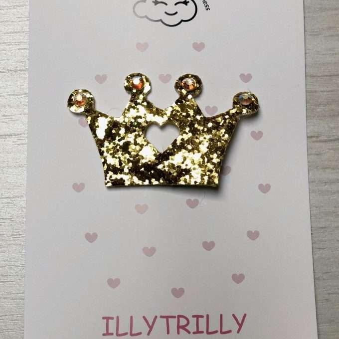 illytrilly fermaglio corona queen oro-0