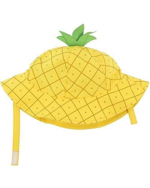 Zoocchini Cappello Estivo UPF 50 Ananas-0