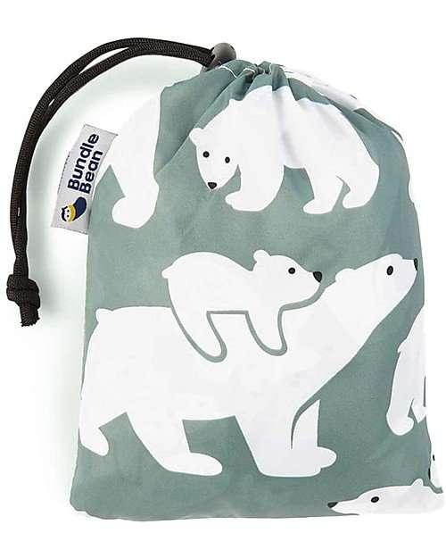 BundleBean Cover Protettiva Impermeabile Leggera Orsi per babywearing -6783