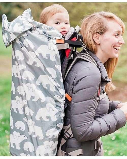 BundleBean Cover Protettiva Impermeabile Leggera Orsi per babywearing -6782