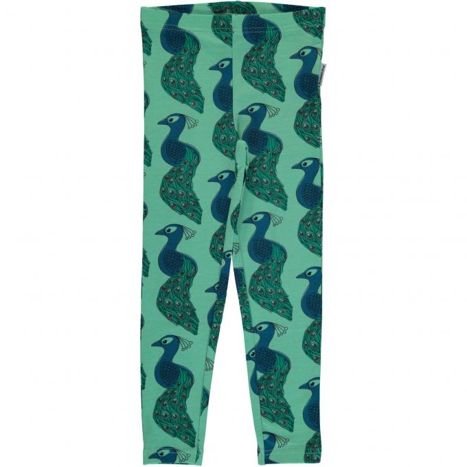 Maxomorra Leggings Peacock-0