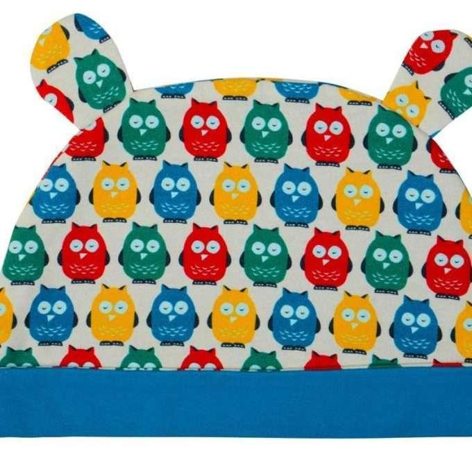 Poco Nido Rainbow Owls Ear Hat Berretto-0