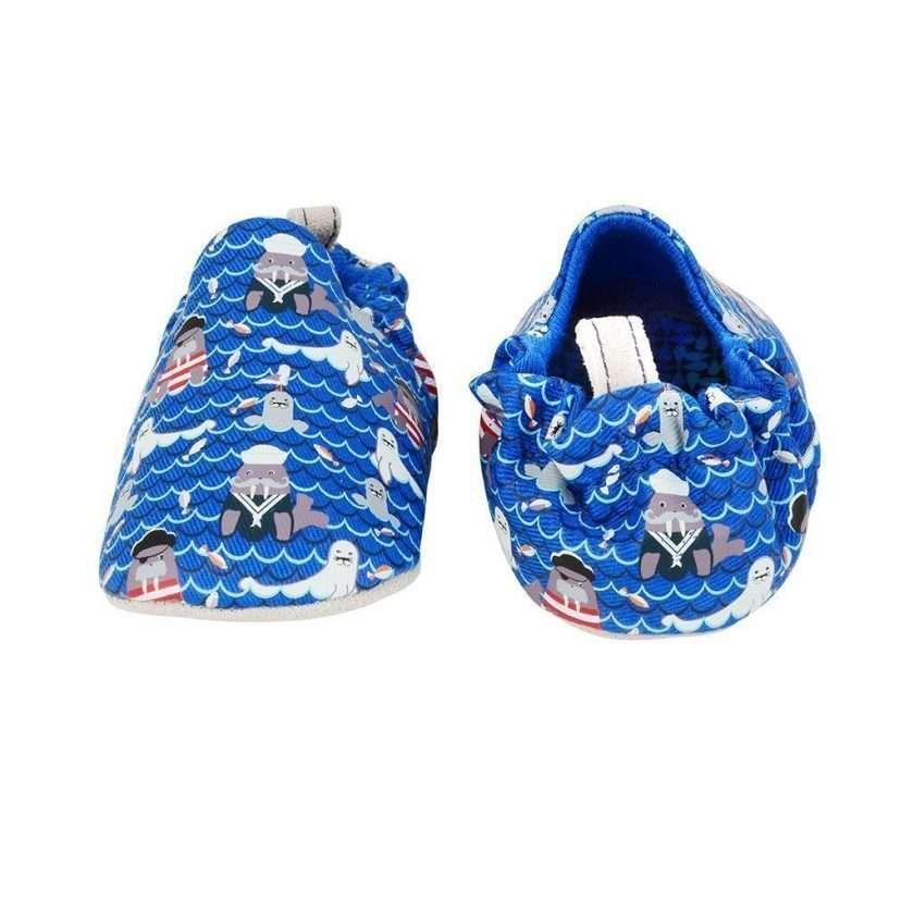 Poco Nido Seal and Walrus Mini Shoes Scarpine Primi Passi-6566