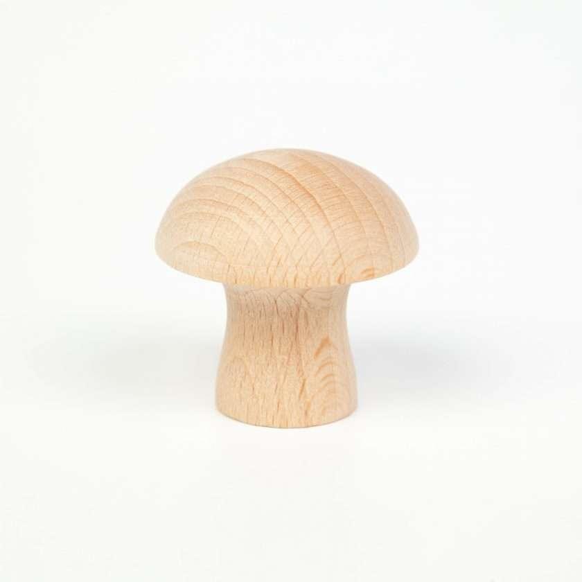 Grapat Funghi in legno naturale -6957