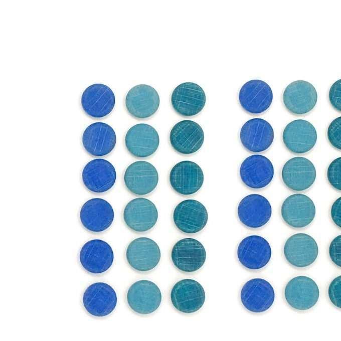 Grapat Mandala piccole monete blu-0