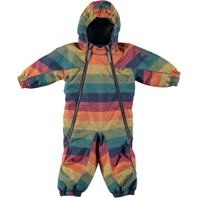 Molo Pyxis Denim Rainbow Tuta Invernale -0