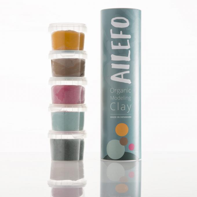 Ailefo Pasta Modellabile Tubo Piccolo 5 colori-0