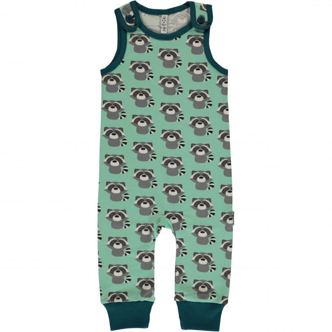 Maxomorra Salopette Playsuit Raccoon-0