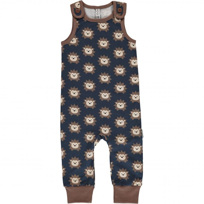 Maxomorra Salopette Playsuit Hedgehog-0