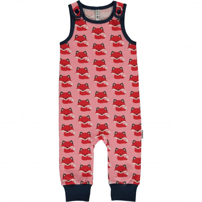 Maxomorra Salopette Playsuit Fox-0