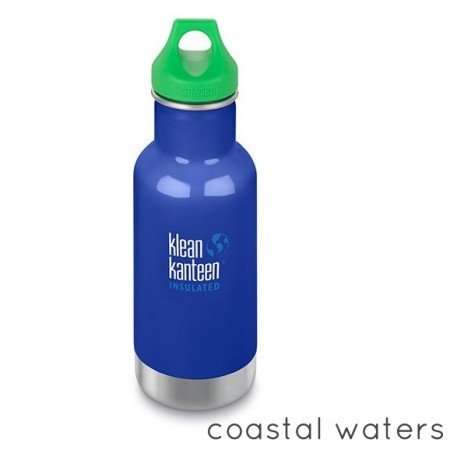 Klean Kanteen Borraccia Kid Kanteen Classic Insulated Loop Cap Coastal Waters-0