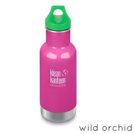 Klean Kanteen Borraccia Kid Kanteen Classic Insulated Loop Cap Wild Orchid-0