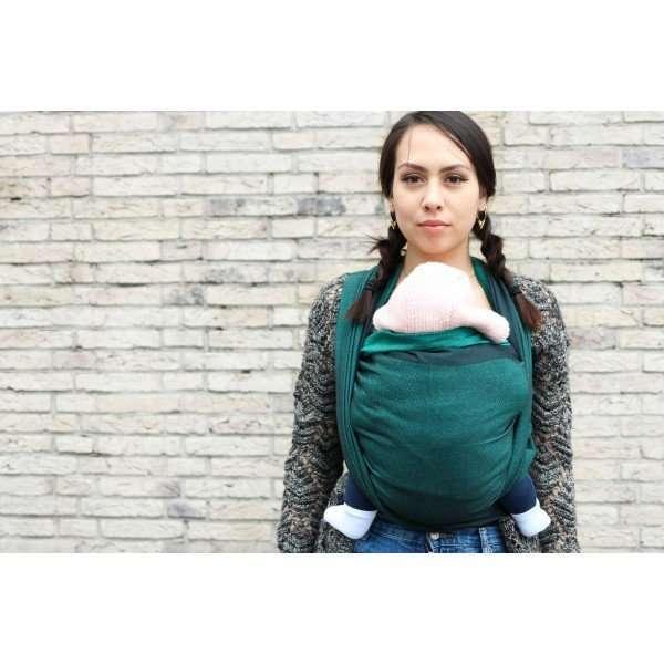 Yaro Newborn Emerald Black Fascia porta bebè -0
