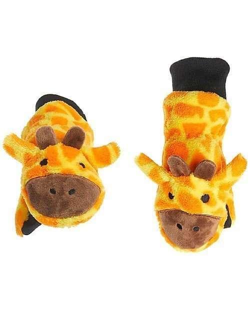 FlapJackKids Guanti Invernali Giraffa-0