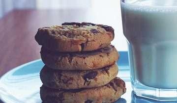 Ricetta al volo: i biscotti con le gocce di cioccolato