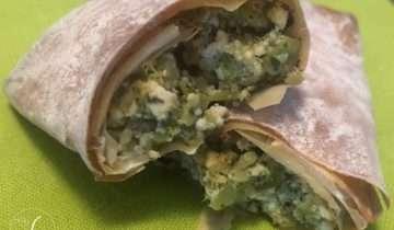 In cucina con Frida: involtini di pasta fillo e broccoli
