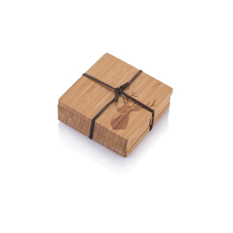 Bambu Set di sottobicchieri/piattini da aperitivo-0