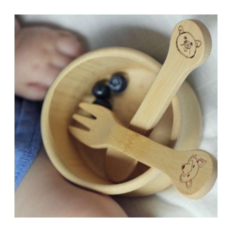Bambu Forchetta e coltello 18+-8688