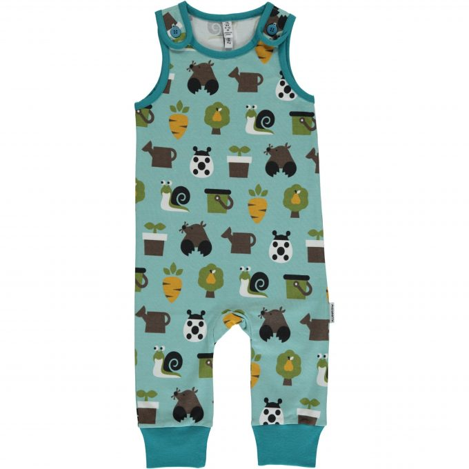 Maxomorra Salopette Playsuit Garden-0