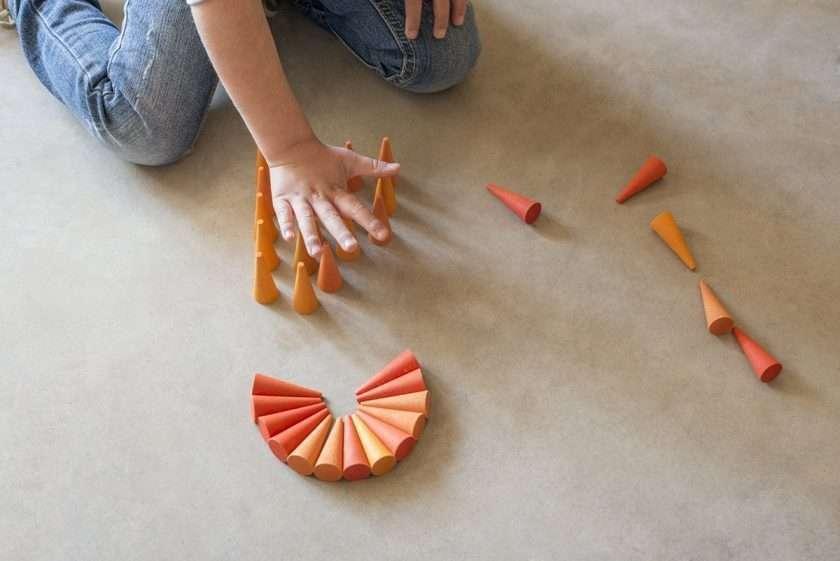 Grapat Mandala Coni arancio -8825