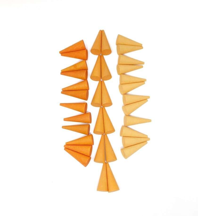 Grapat Mandala Coni arancio -8826