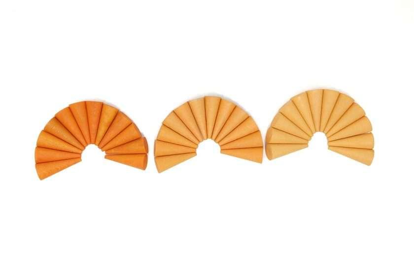 Grapat Mandala Coni arancio -8823