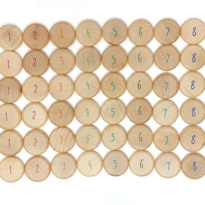 Grapat Monete con i numeri-0