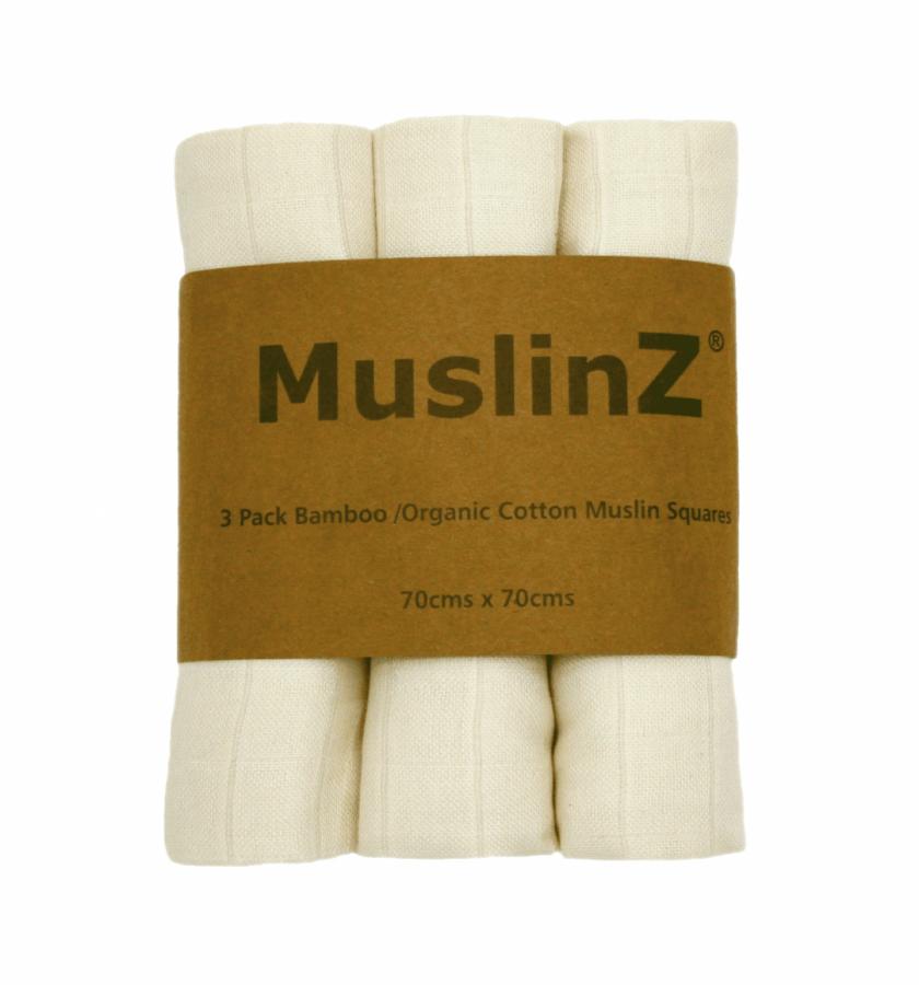 MuslinZ Muslin/Mussola in bamboo e cotone biologico -0