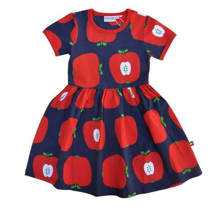 Moromini Abito Red Apples-0