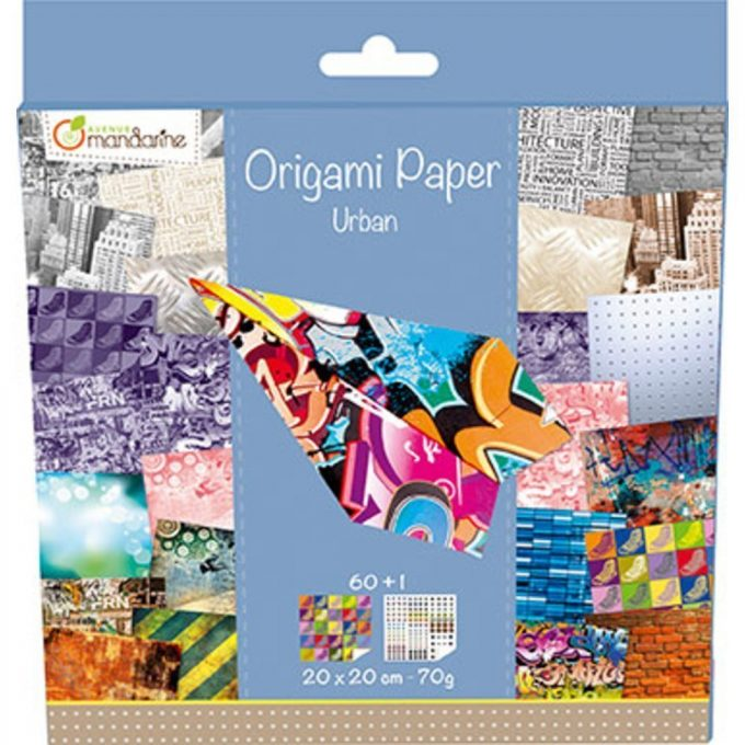 Avenue Mandarine Carta Origami Urban -0