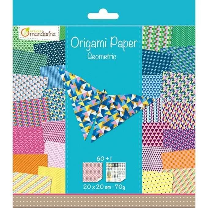 Avenue Mandarine Origami Geometric-0