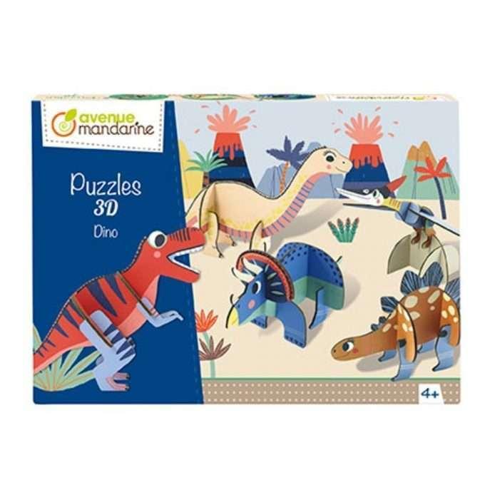 Avenue Mandarine Puzzle 3D Dino-0