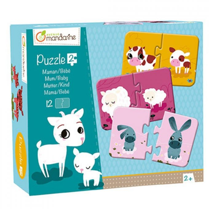 Avenue Mandarine Puzzle Mamma e Cucciolo-0