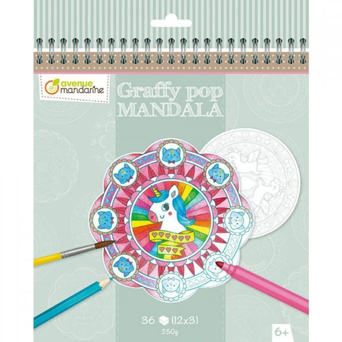 Avenue Mandarine Mandala da colorare Magic-0
