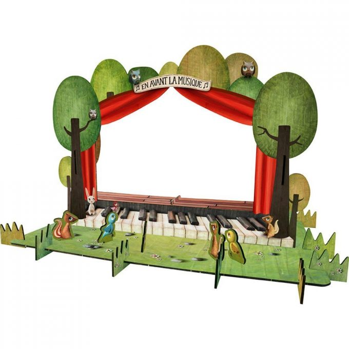 Avenue Mandarine Puzzle 3D Piccolo Teatro-0