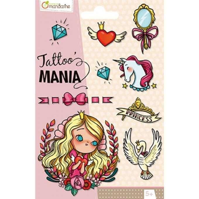 Avenue Mandarine Tattoo Principesse-0