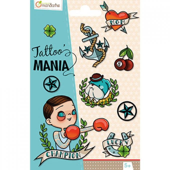 Avenue Mandarine Tattoo Super Boy-0