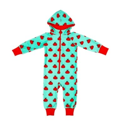Malinami Tuta One Piece Mint Ladybird-0
