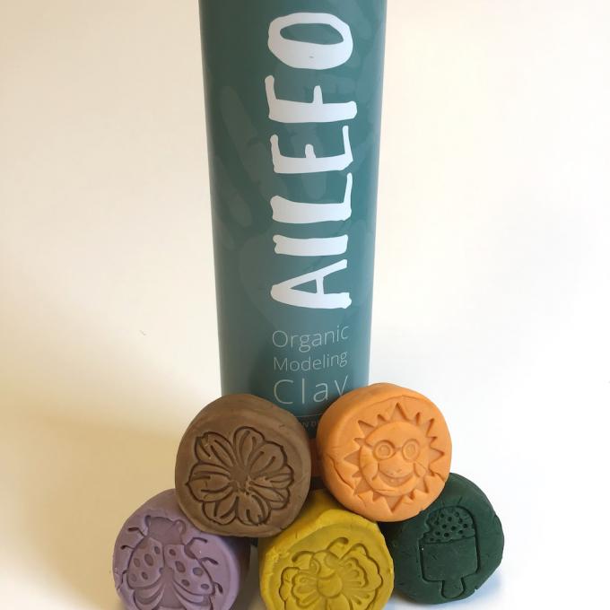 Ailefo Pasta Modellabile Tubo Piccolo Spring Colors-0