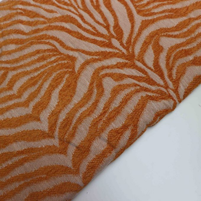 Yaro Tiger Puffy Towel Mustard -0