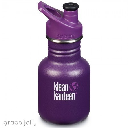 Klean Kanteen Borraccia Kid Kanteen Grape Jelly Matte Sport Cap-0